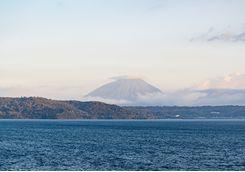 Mount Yotei viewed across Lake Toya