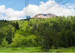 Mount Kurodake Ropeway in Daisetsuzan National Park