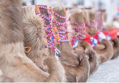 sami reindeer shoes