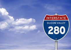 I-280 in Silicon Valley