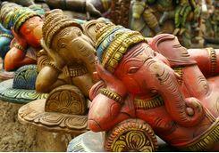Chennai ganesh statues