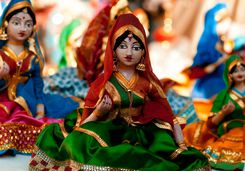 Thanjavur handicraft doll