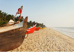 Beach in Kerala