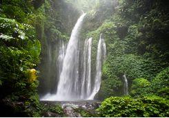 Lombok Benang waterfalls