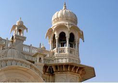 Jodhpur detail shot of building