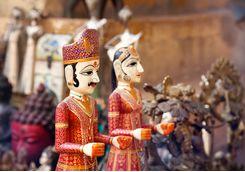 Jodhpur puppets