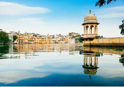 Udaipur and lake pichola