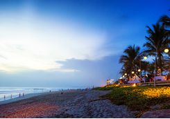 Seminyak beach nightlife