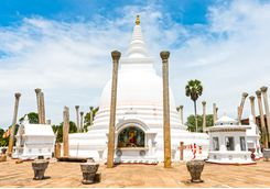 anuradhapura white temple