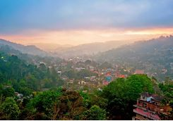 A valley in Kandy