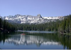 Lake in Mammoth