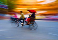 Rickshaw tour, Delhi