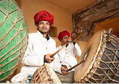 Amber Fort Musicians
