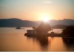 Sunset, Lake Pichola