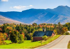 Green Mountains in Vermont