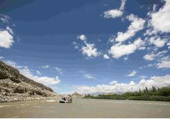 Indus river, rafting