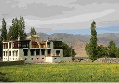 Stok village, India