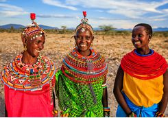 Local Serengeti village