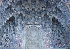 Marrakech blue art