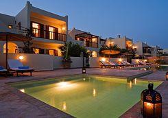 Morocco Essaouira Rebali Riads evening