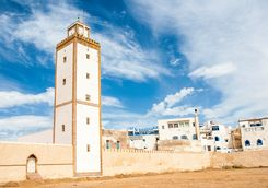 Morocco Essaouira church