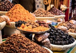 dates nuts stall