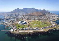 Aerial of Cape Town