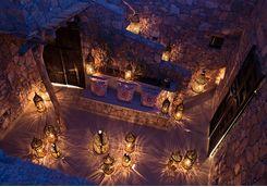 Lantern at Maison Rouge