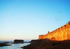 Fort on the coast at Essaouria