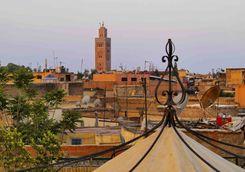 Buildings in Marrakech