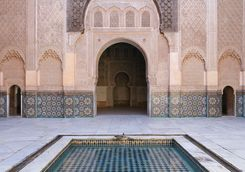 Pool in Marrakech