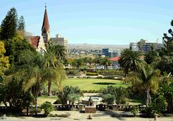A view of Christchurk, Windhoek