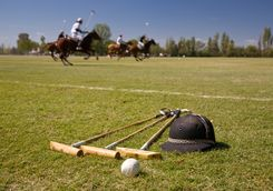 Polo equipment in Argentinia