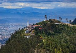 View of Monserrate, Bogota