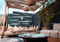 Shaded Rooftop Terrace