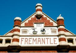 Market hall in Fremantle