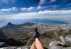 View from the Table Mountain