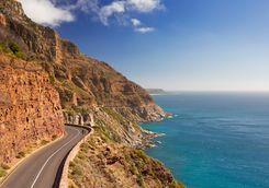 Road at Cape Peninsula