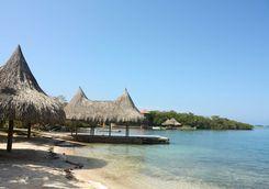 Beach on the Rosario Islands