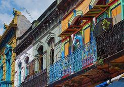 El Caminito facades
