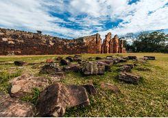 Jesuit ruins in San Ignacio