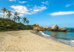 Beach in Tayrona National Park