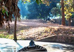 Boat in Angkor Wat