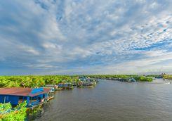 Floating village in Siem Reap