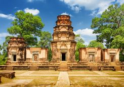 Khmer Monument in Angkor
