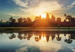 Mysterious towers in Angkor