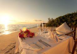 Dinner in the sunset