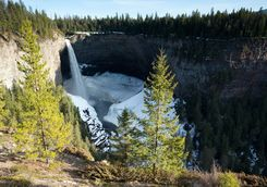 Wells Gray Waterfall