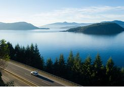 Sea to Sky Highway, Canada