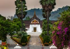 Royal Palace in Luang Prabang